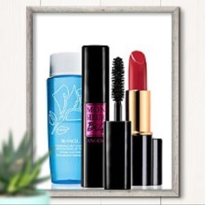 Lancôme Mascara Lipstick & Eye Makeup Remover